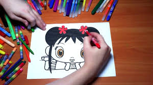 ni hao kai lan new coloring pages for kids colors kai lan video