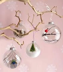 diy clear ornaments glitter ornaments handmade with clear plastic