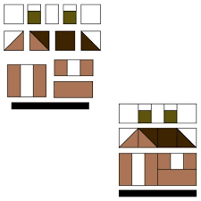 pattern block house template 152 best a casitas images on pinterest house quilts quilt blocks