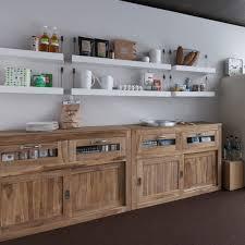 meuble cuisine bois recyclé meuble cuisine indépendant cuisine en image