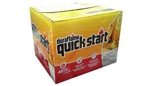 amazon com duraflame quick start firestarters 40 pk 10
