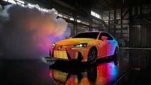 sriracha car lexus gets lit adorns is with 41 999 programmable leds roadshow
