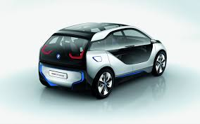 bmw electric car the new bmw electric car on a white background wallpapers and