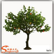 high imitation of artificial apple tree artificial apple fruit