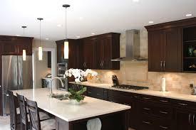 Kitchen White Cabinets Black Countertops Neat Wall Wooden Shelf Decor Idea Backsplash Ideas With White