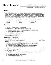 Student Internship Resume Sample by Stimulating Internship Resume Samples For College Students Brefash