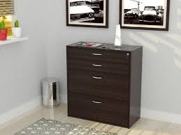 1 Drawer Lateral File Cabinet by Office Storage Interior Long Brown Wooden Corner Desk With