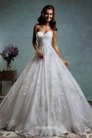 sweetheart lace ball gown wedding dress naf dresses