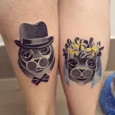 matching couple tattoos for men ideas and inspiration for guys