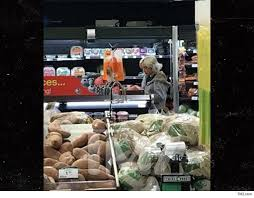 gaga shops for thanksgiving at kroger in west virginia todays