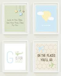 Home Decor Places Nursery Prints Stars And Sky Travel Nursery Oh The Places You