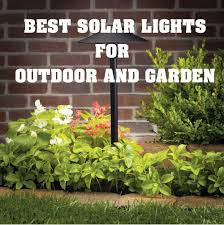 Landscaping Solar Lights 18 Best Brightest Solar Lights For Outdoor Garden Security