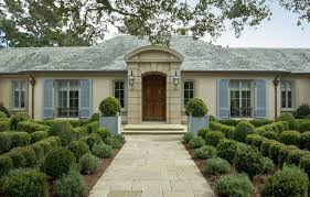 Small Country House Landscape Small French Country House Design Exterior With Wooden