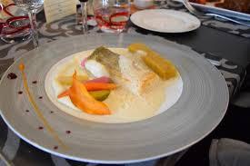 la cuisine de la mer duo de cochon ร ปถ ายของ hostellerie de la mer crozon tripadvisor
