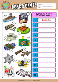 esl printable word games for adults board games esl printable worksheets for kids 3