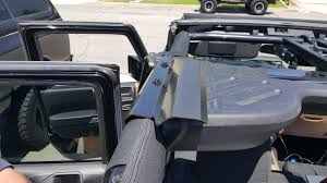 jeep hardtop removal install review rackworks rubicon series rack jeepforum com