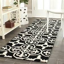 Black And White Rugs Black And White Contemporary Area Rugs How To Decorate Use