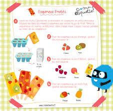 recette cuisine enfants recette cuisine enfant esquimaux fruités i recette c monetiquette