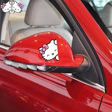 aliexpress buy 2 funny kitty car stickers car decal