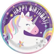 unicorn party supplies unicorn paper party plates unicorn party supplies