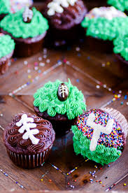 football cupcakes three easy football cupcakes something swanky