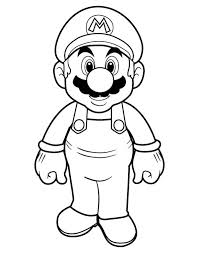 coloring pages mario characters image super mario coloring pages 1
