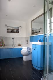 coastal bathrooms ideas coastal themed bathroom blue tiles ideal home coastal bathroom
