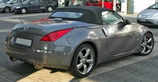 convertible nissan nissan 350z roadster