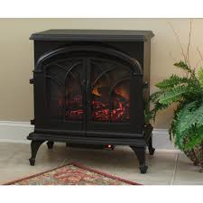 fire sense fox hill electric fireplace stove 177169 fireplaces