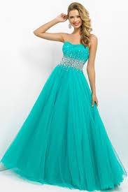 brightly colored prom dress scalloped neckline princess floor