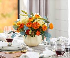 photo centerpieces pretty thanksgiving centerpieces