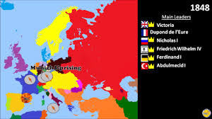 Europe 1815 Map by History Of Europe European Restoration German And Italian