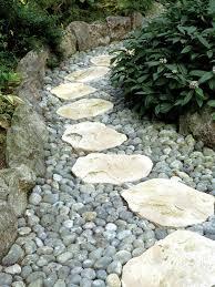 Garden Stones And Rocks Stepping Stones Carolina Wilson Garden