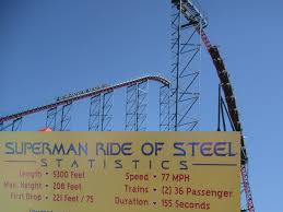 Six Flags Superman Ride Sunday September 29 2002