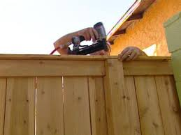 how to building a cedar fence hgtv