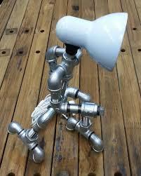 Plumbing Pipe Floor Lamp by Diy Diva Makes Galvanised Pipe Lamps Designmind Enhance Your
