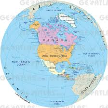 World Map Mexico by Geoatlas World Maps And Globe Globe North America Map City