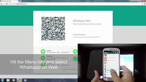 scan barcode android how to use whatsapp on web and scan qr code easily 2015 hd
