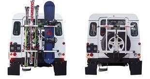 porta sci per auto portasci posteriore per fuoristrada fabbri gringo ski board cod