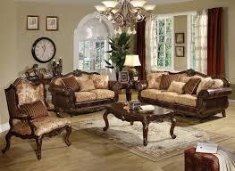 Top Grain Leather Living Room Set by Versace Cleopatra Cream Italian Top Grain Leather Beige Living