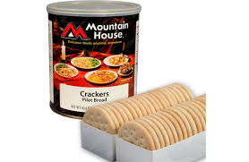 food freeze dried mountain house cans pilot crackers