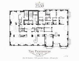 penthouse floorplans lincoln park 2550 chicago il