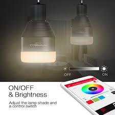 Changing Color Light Bulbs Bluetooth Led Color Changing Light Bulb U2013 Awemazing Stuff