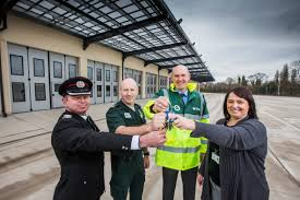 wrexham u0027s ambulance and fire services resource centre completed
