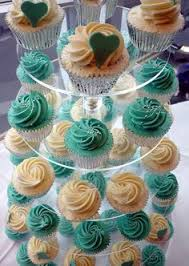 Wedding Cupcake Decorating Ideas Turquoise U0026 Silver Wedding Cupcakes For Lucy And Jamie