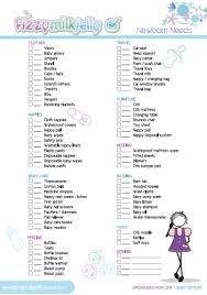 newborn baby needs newborn needs printable list