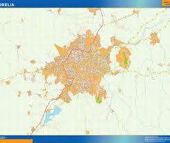 Morelia Mexico Map by Mapa Morelia Our Cartographers Have Made Mapa Morelia As Digital