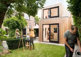 Modern Backyard A Small Modern Backyard Painting Studio In The Netherlands Home