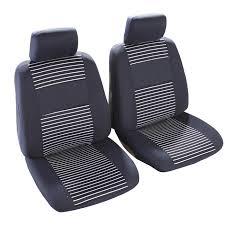 housse de sieges voiture jeu de housses universelles 2 sièges avant voiture custo auto