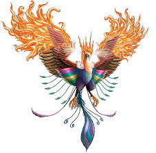 100 flaming phoenix tattoos that will reborn you tattoozza